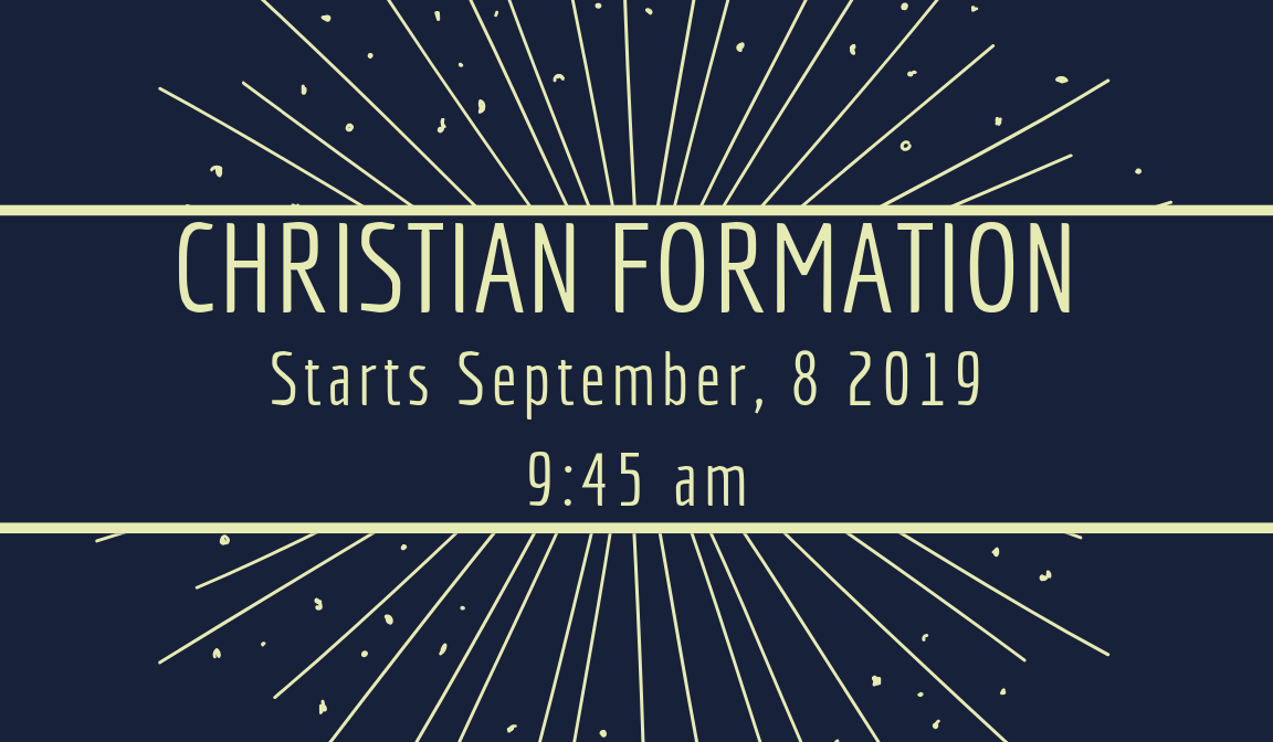 Christian Formation Classes