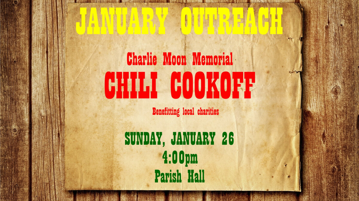 January Outreach - Chili Bowl of Caring!
