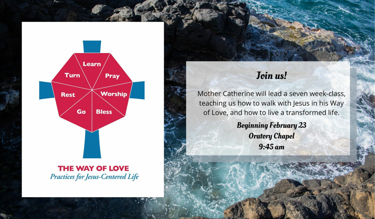 ADULT CHRISTIAN FORMATION - Way of Love